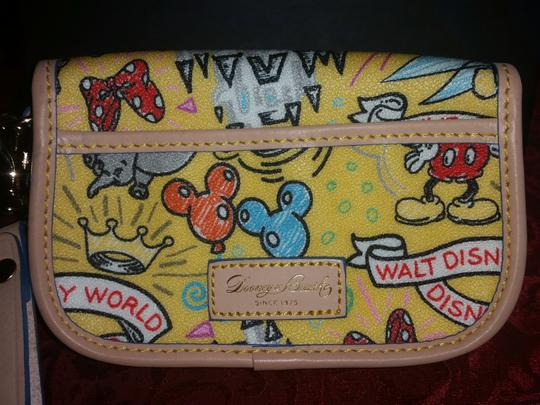 Dooney & Bourke RARE Dooney And Bourke Disney Wristlet