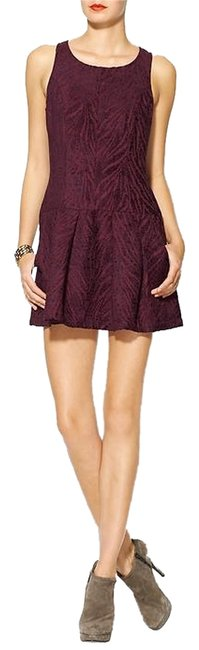 Free People short dress Mulberry on Tradesy