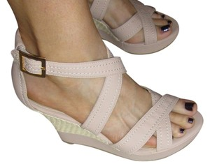 Lumiani Nude Wedges