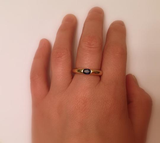 Cartier Cartier Ellipse Sapphire Ring in 18K yellow gold, size 5.5