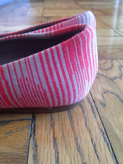 M Missoni Coral and Cream Flats