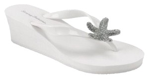 Tommy Bahama White Sandals