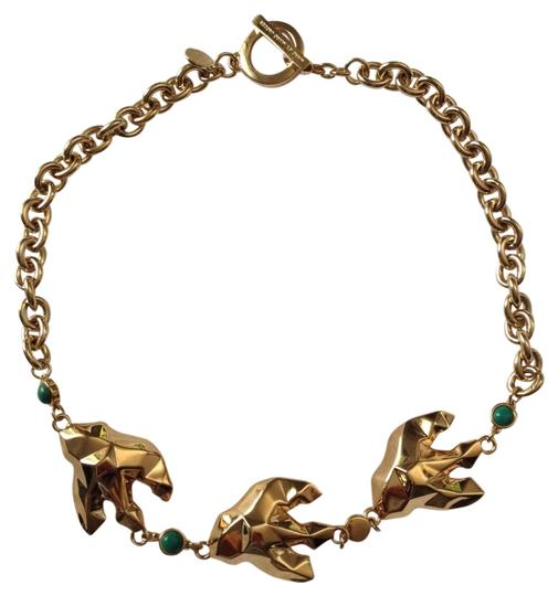 Marc Jacobs Marc By Marc Jacobs 'Oiseau d'Amour' - Bird Flight Gold Plated Necklace