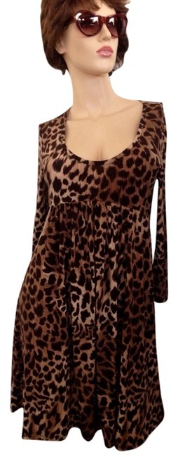 Preload https://img-static.tradesy.com/item/3397099/michael-kors-leopard-baby-doll-above-knee-night-out-dress-size-petite-4-s-0-0-650-650.jpg