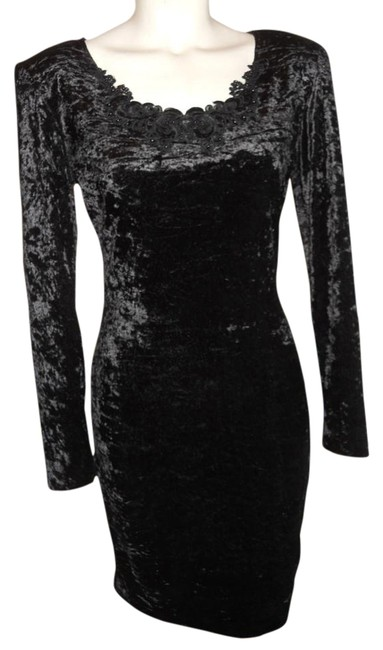 Preload https://item1.tradesy.com/images/all-that-jazz-black-vintage-above-knee-cocktail-dress-size-4-s-339735-0-2.jpg?width=400&height=650