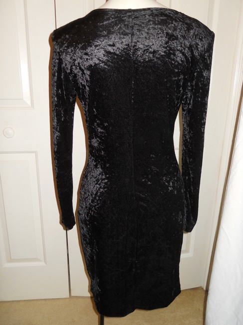 All That Jazz Vintage Velvet Beaded Dress