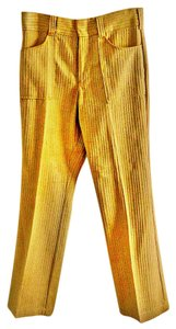 A-1 Kotzin Co. Machine Washable Textured Trouser Pants camel