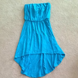 Express short dress Blue on Tradesy