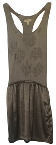 Silence + Noise short dress Ashy Taupe on Tradesy