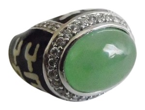 Jade greenr Jade Ring Size 8