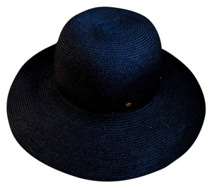 Betmar Wide brimmed black summer hat