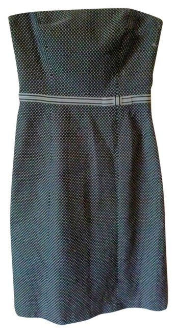Ann Taylor Preppy Sprng Spring Summer Classic Classy Sexy To Mm Fabric Romantic Black Little Small Pretty Semi Formal Night Out Dress
