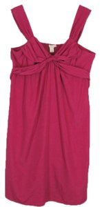 Jonathan Martin short dress Fushia Size L on Tradesy