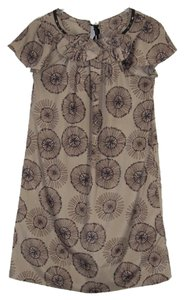 Mossimo Supply Co. short dress Brown Size S Floral on Tradesy