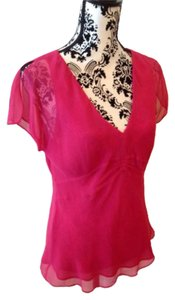 Kenneth Cole Top Hot pink