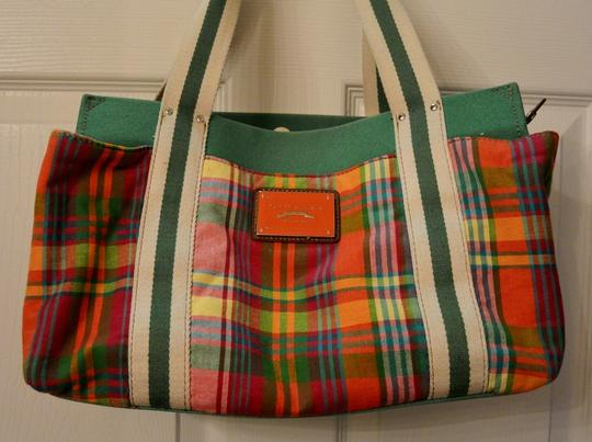 Tommy Hilfiger Tote in Multicolored with green base
