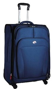 """American Tourister Luggage 29"""" Luggage I Lite D Luxe 29"""" blue Travel Bag"""
