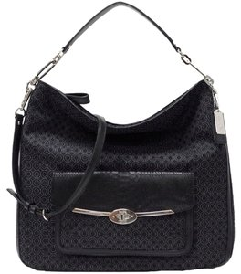 Coach Madison Op Art Hobo Bag