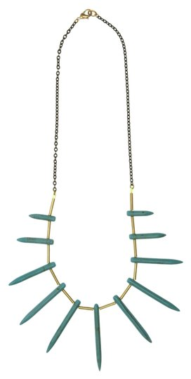 We See Stars Bear Claw Turquoise Necklace