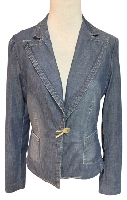 Banana Republic Trend Denim Blazer