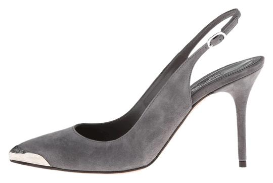 Alexander McQueen Women gray Pumps