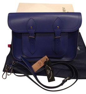The Cambridge Satchel Company Cobalt Blue Messenger Bag