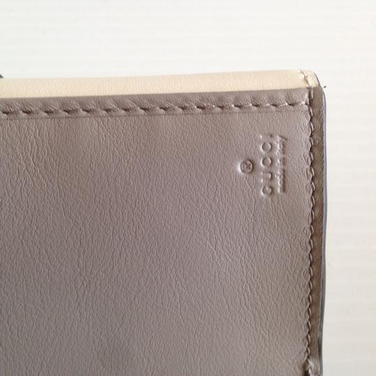 Gucci GUCCI LADY WHITE BAMBOO CONTINENTAL WALLET