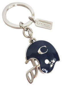 Coach COACH Keychain Keyfob Key Ring 63037 - Football Helmet