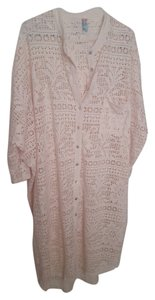 Free People Free People FP BEACH Eyelet Buttondown Maxi Swim Cover Up