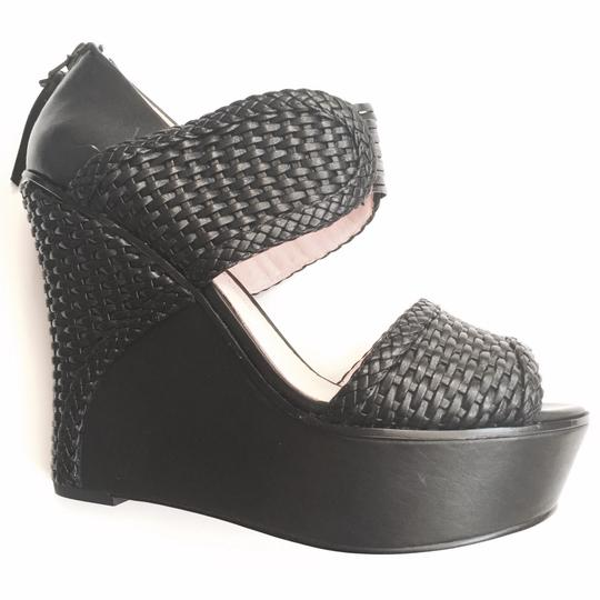 House of Harlow 1960 Black Sandals