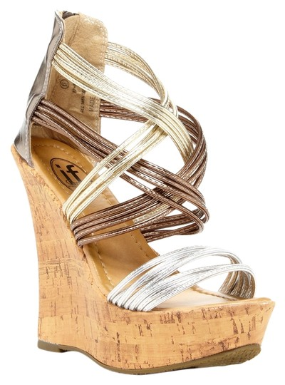 Preload https://item1.tradesy.com/images/carrini-caged-strappy-wedge-metallic-sandals-size-us-8-3402355-0-0.jpg?width=440&height=440