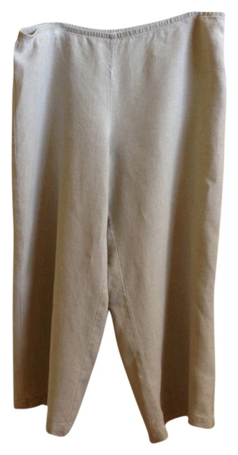 Eileen Fisher Capris Light Khaki