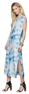 Skyline blue Maxi Dress by Anthropologie
