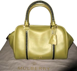 Mulberry Pembridge Clipper Clover Satchel in Green