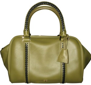 be9dfb304057 Mulberry Pembridge Clipper Clover Satchel in Green