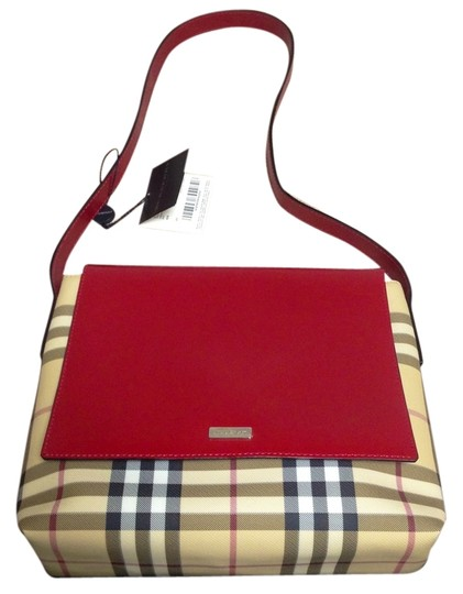 Burberry Nova Selina Leather Shoulder Bag