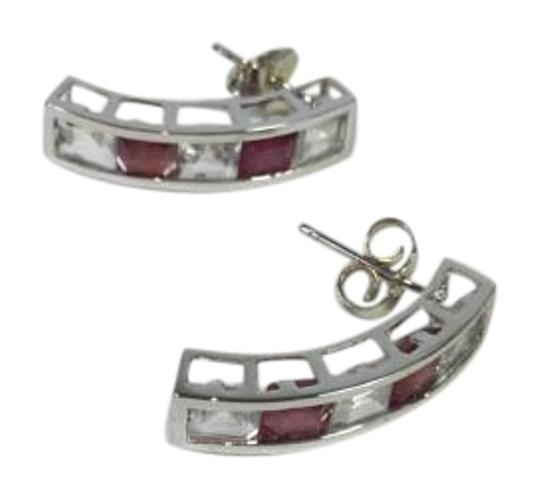 Preload https://item5.tradesy.com/images/white-gold-red-white-47-ct-14k-solid-natural-topaz-and-ruby-earrings-3403414-0-2.jpg?width=440&height=440