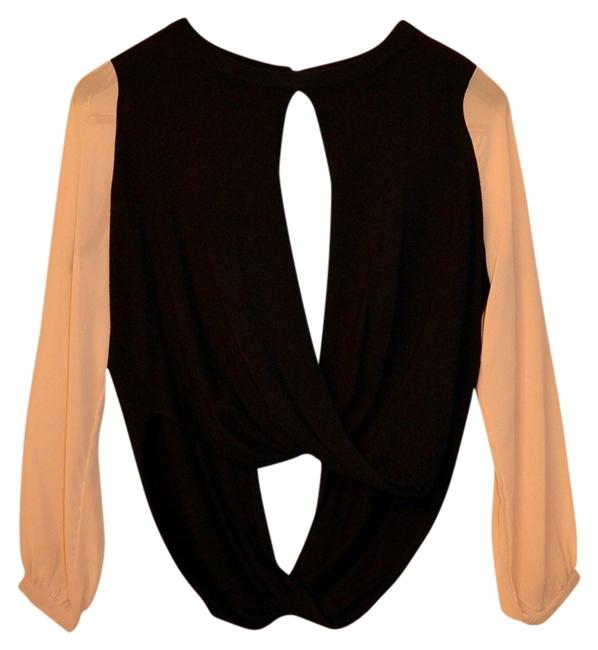 Other Top Black and beige