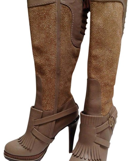 Preload https://img-static.tradesy.com/item/3404104/cole-haan-taupe-leather-wcamel-and-white-pony-hair-and-bootsbooties-size-us-65-regular-m-b-0-7-540-540.jpg