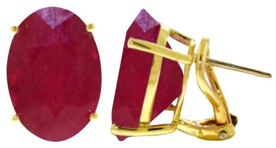 Preload https://item3.tradesy.com/images/yellow-gold-red-15-ct-14k-solid-ruby-french-clip-earrings-3404197-0-0.jpg?width=440&height=440