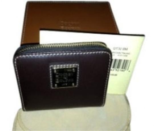 Preload https://item3.tradesy.com/images/dooney-and-bourke-dark-brown-new-in-box-rich-mini-wallet-34042-0-0.jpg?width=440&height=440