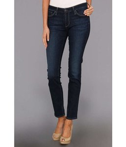 AG Adriano Goldschmied Denim Dark Wash Rinse Skinny Straight Leg Jeans-Dark Rinse