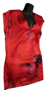 Marciano short dress Red Purple Black on Tradesy