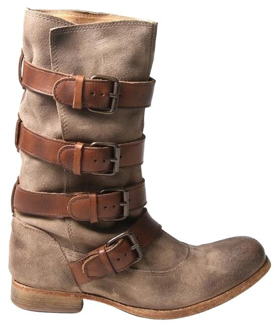 H by Hudson Beige Keira Boots/Booties Size US Regular (M, B) H by Hudson Beige Keira Boots/Booties Size US Regular (M, B) Image 1