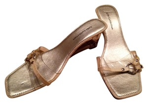 Gibi Collection Clear and Silver Wedges