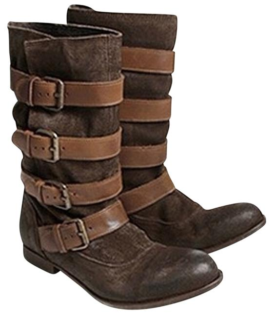 H by Hudson Brown Keira Boots/Booties Size US Regular (M, B) H by Hudson Brown Keira Boots/Booties Size US Regular (M, B) Image 1