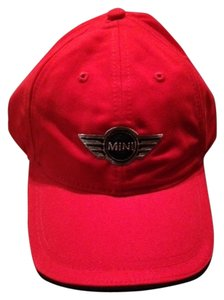 Red Mini Cooper baseball cap, never been worn