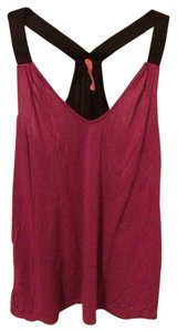 Eight Sixty Top Fuschia/Black