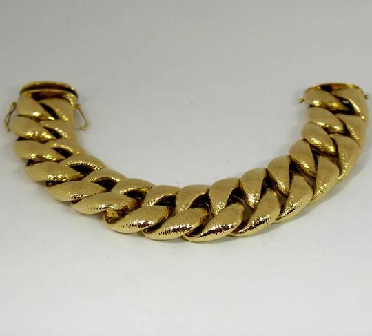 Other Hammered Finish Large Link Bracelet