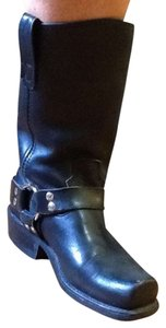 Double-H Boots Black Leather Boots